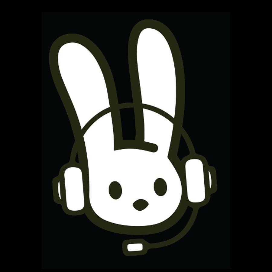 OOTB Bunny with Headphones on