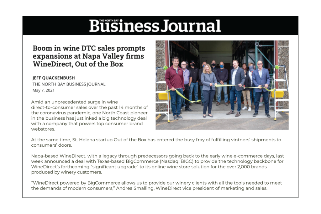 Thumbnail of the Business Journal article